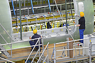 Airplane construction in a hangar - SCH000076