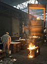 Germany, man at work in foundry - SCH000098