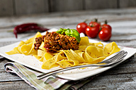 Pappardelle classico, Sauce Bolognese - MAEF008111