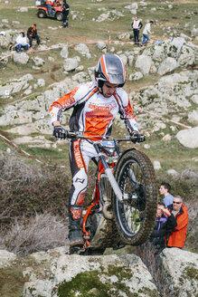 Spain, Madrid, El Molar, Motorcycle trials competition - AMC000057