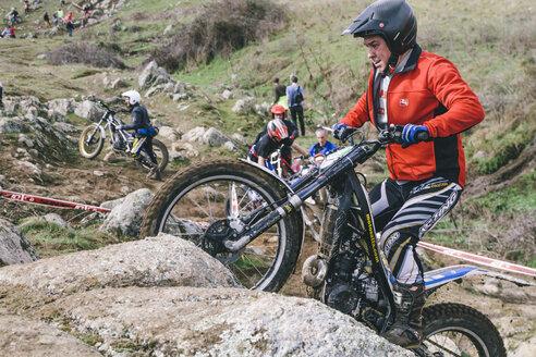 Spain, Madrid, El Molar, Motorcycle trials competition - AMC000060
