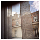 Looking out the window, Besancon, Doubs, France. - DHL000356