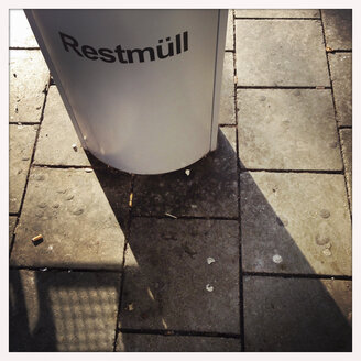 Residual waste, Munich, Bavaria, Germany - GS000807