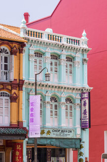 Singapore, old buildings in Chinatown - THA000135