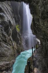 Germany, Bavaria, Werdenfelser Land, Partnach Gorge near Garmisch-Partenkirchen - RJF000029