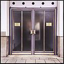 Entrance, signs, Munich, Bavaria, Germany - GS000820