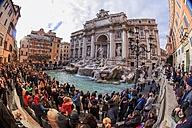 Italy, Rome, Trevi Fountain - EJWF000348