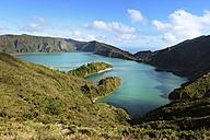 Portugal, Azores, Sao Miguel, Lago di Fogo, crater lake - ONF000442