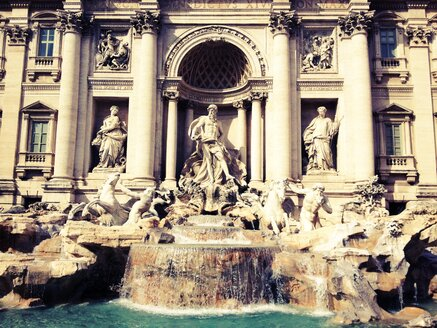 Fontana di Tevi, Rome, Italy - RIMF000147