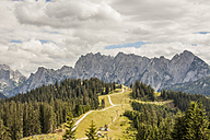 Austria, Gosau, View to Dachstein Mountains - KVF000045