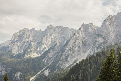 Austria, Gosau, View to Dachstein Mountains - KVF000051