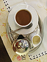 Pot of coffee (typically served with cup on a small tray) - GWF002634