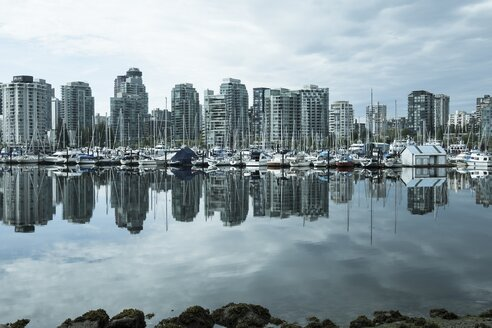 Canada, Vancouver, Skyline of Coral Harbour - AMF002020