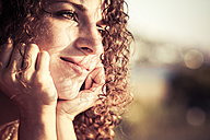 Portrait of daydreaming woman, close-up - KRP000385