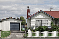 New Zealand, Ngatea, detached house with garage - WV000498