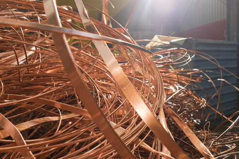 Copper in a scrap metal recycling plant - LAF000847