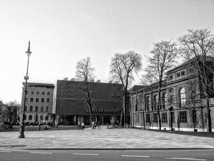 Famous Lenbachhaus, Munich, Bavaria, Germany - RIMF000212