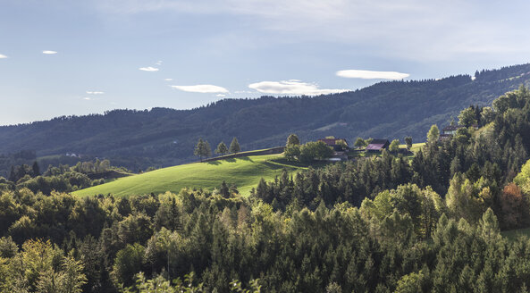 Austria, Southern Styria, Landscape at early morning - ATAF000024
