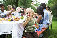 Boy on a garden party - ABF000586