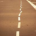 Weird lane markings, Berlin, Germany - FBF000304