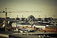 Germany, Berlin, Tiergarten, View to Reichstag - CM000092