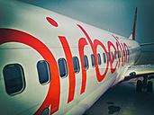 Plane of airberlin, Dusseldorf Airport, North Rhine-Westphalia, Germany - ON000433