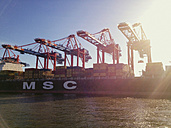 Container port Waltershof, Euro Gate, Port of Hamburg, Germany - SE000634