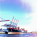 Container port Waltershof, Burchardkai, Port of Hamburg, Germany - SE000638