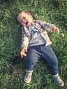 Toddler Boy crying, Sangerhausen, Germany - ABAF001291