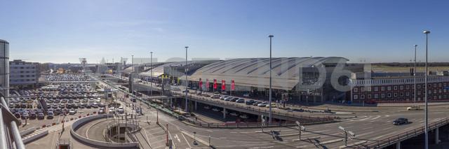 Germany, Hamburg, Panoramic view of the terminals of Hamburg Airport - NK000080