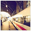 ICE on Dammtorbahnhof in Hamburg, Germany - MS003660