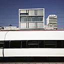 Train in Biel, Bienne, Switzerland Hauptbahnhof - MS003641