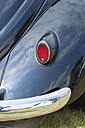 Germany, Hesse, Muehlheim, car wing of old VW beetle - JWA000029