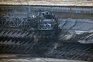 Germany, North Rhine-Westphalia, Garzweiler surface mine, Bucket-wheel excavator - RD001244