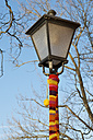 Germany, Baden-Wuerttemberg, Constance, embroidered street lantern - JED000177