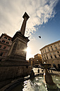 Italy, Rome, Square with fountain near Basilica di Santa Maria Maggiore - KAF000123