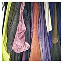 Male shirts in a wardrobe - HAWF000065