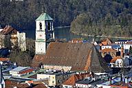 Germany, Upper Bavaria, Wasserburg on Inn, Parish Church St Jakob - LB000660
