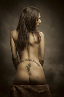 Female nude with tattoo - CvK000054
