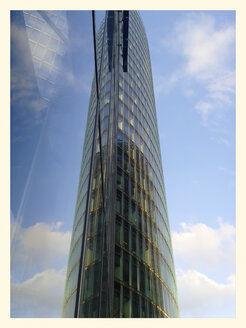 Bahn Tower, Reflection, glass facade, Potsdamer Platz, Germany, Berlin - BFR000375