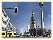 St. Mary's church, TV Tower, City Centre, Germany, Berlin - BFR000383
