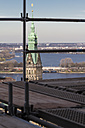 Germany, Hamburg, View from St. Nicholas church to town hall and Alster - KRP000415