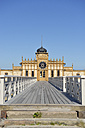 Sweden, Varberg, Bathhouse at the Baltic Sea - BR000202