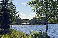Sweden, Stroemsund, Landscape along Vildmarksvaegen - BR000432