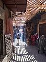 Morocco, Marrakesh-Tensift-El Haouz, Marrakesh, Medina, Bazaar - AM002120