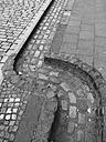 Germany, North Rhine-Westphalia, Aachen, gully - HLF000442