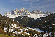 Italy, Alto Adige, Villnoess Valley, Geisler group - GFF000442