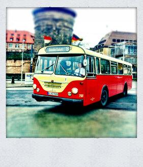 Retrobus, Nuremberg, Bavaria, Germany - ED000047