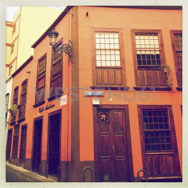 House facade in Cruz de La Palma, Canary Islands, Spain - SEF000650