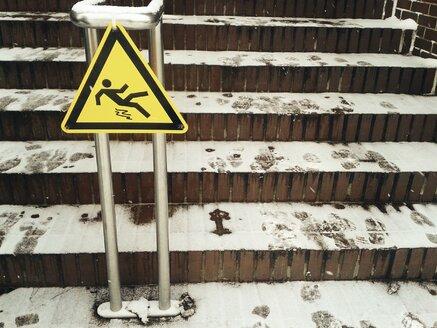 Austria, Caution: Slippery! - BRF000545